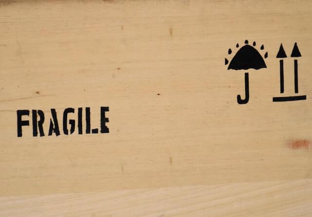 fragile kunsttransport