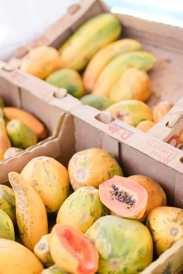 groente en fruit transport