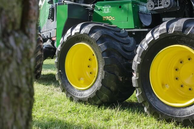 landbouwvoertuig transport