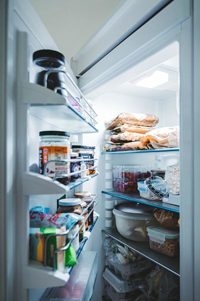 Open koelkast
